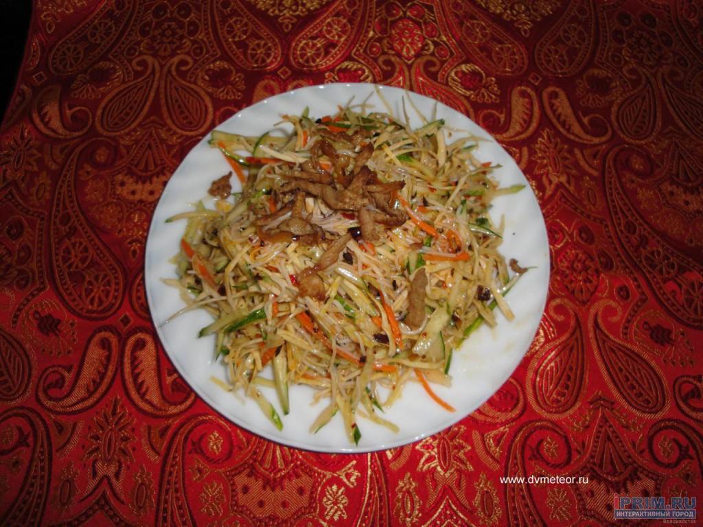 Китайская кухня салаты рецепты с фото